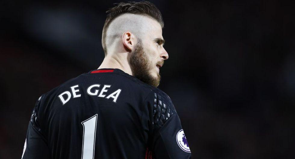 David De Gea estaría jugando su última temporada con el Manchester United. (AFP)