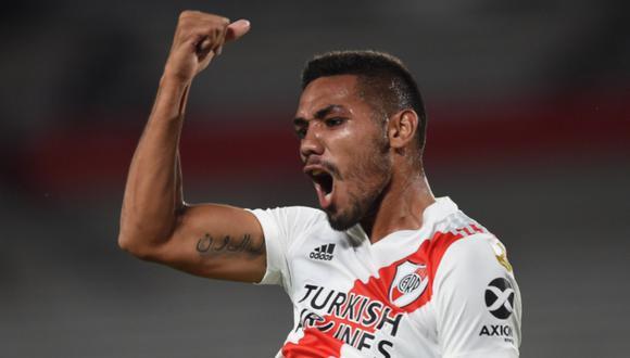 Los 'Millonarios' lograron su primera victoria de la Copa Libertadores 2021 frente a Junior. (Foto: River Plate)
