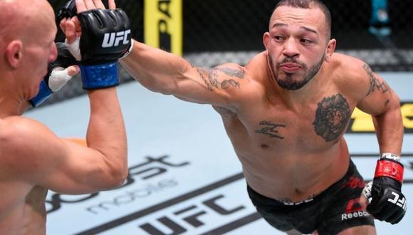 Pelador de la UFC arrestado por intento de homicidio (Foto: ESPN)