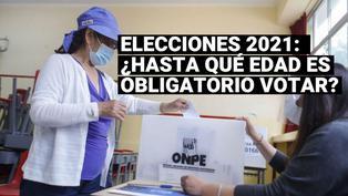 Elecciones 2021: ¿hasta qué edad es obligatorio votar el próximo 11 de abril?