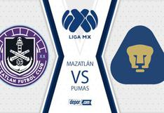 TV Azteca, Mazatlán vs. Pumas UNAM EN VIVO: se enfrentan en la Jornada 9 de la Liga MX