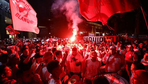 Conoce todos los detalles sobre el 'Banderazo' previo al Perú vs. Brasil. (Fotos: Daniel Apuy)