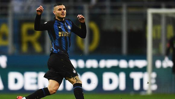 Icardi fue recibido entre plausos y abucheos en la casa del Inter de Milán. (Getty)