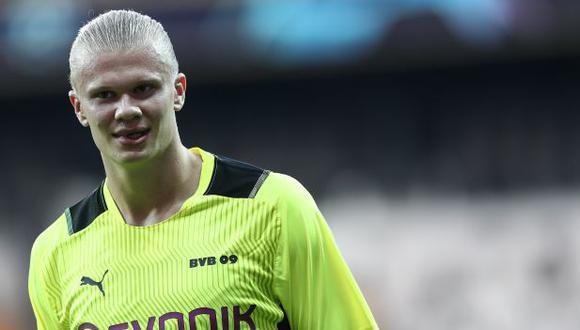 Erling Haaland acaba contrato con el Borussia Dortmund en 2024. (Foto: EFE)