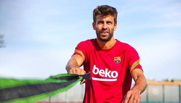 Pique tiene contrato con el Barcelona hasta mediados del 2022.