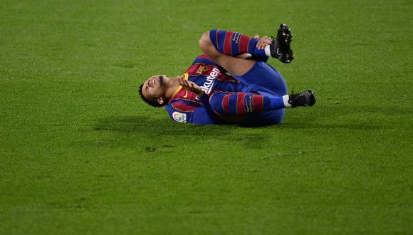 Ronald Araujo podría quedar fuera del choque por Copa del Rey frente a Sevilla. (Foto: Sport)