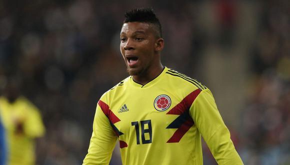 Frank Fabra fue convocado de última hora en Colombia. (Foto: Twitter)