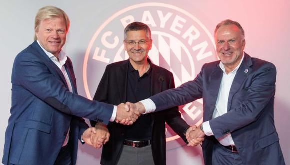 Oliver Kahn asumirá la presidencia del Bayern Munich en reemplazo de Rummenigge. (Foto: Bayern Munich)