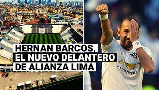 Un '9' con peso internacional: Alianza Lima anuncia fichaje de Hernán Barcos
