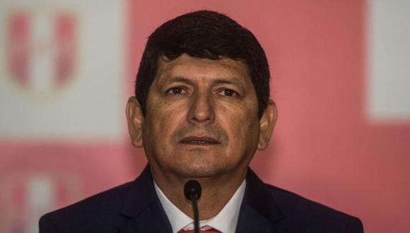 Agustín Lozano dio detalles de cómo se desarrollará la fase 1 de la Liga 1 2021. (Foto: AFP)