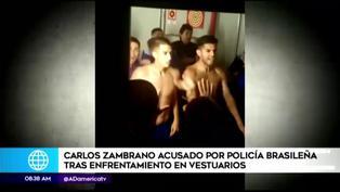 Copa Libertadores 2021: Carlos Zambrano terminó detenido tras el Mineiro vs Boca Juniors