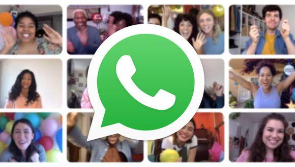 WhatsApp: cómo hacer videollamadas de hasta 50 personas.
