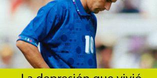 Italia: la depresión de Roberto Baggio