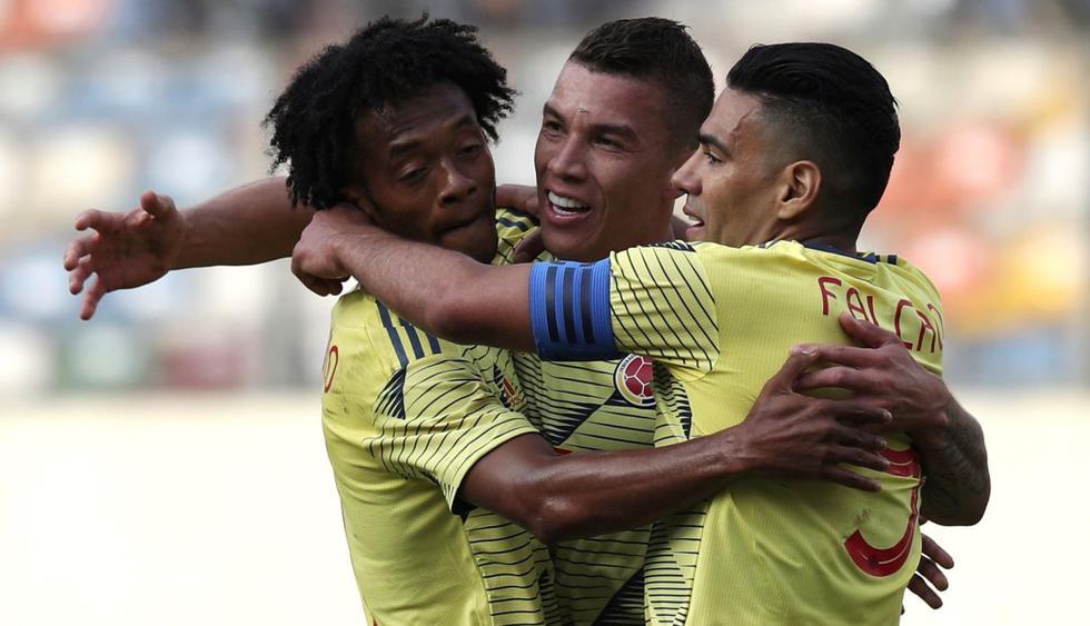 Perú vs. Colombia en el Monumental de Limañ (Foto: AP)