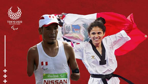 Angélica Espinoza y Efraín Sotacuro son los abanderados para los Juegos Paralímpicos. (Foto: Asociación Nacional Paralímpica del Perú)