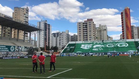 Goias vs. Sao Paulo fue suspendido por casos de coronavirus en el equipo de Kevin Quevedo.