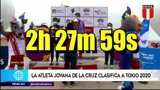 Fondista peruana Jovana de la Cruz clasifica a Olimpiadas de Tokio