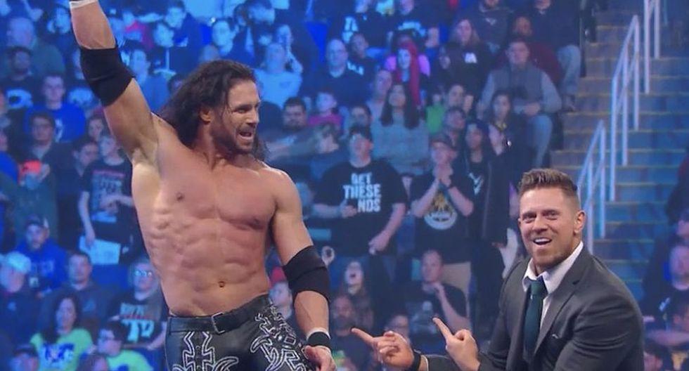John Morrison fue uno de los protagonistas del show azul. (Foto: WWE)