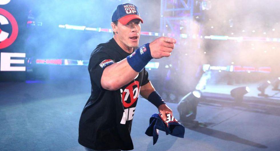 10. John Cena con 25 eliminaciones. (WWE)