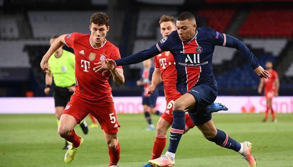 PSG vs. Bayern Munich en el Parque de los Príncipes por la Champions League. (Foto: Reuters)