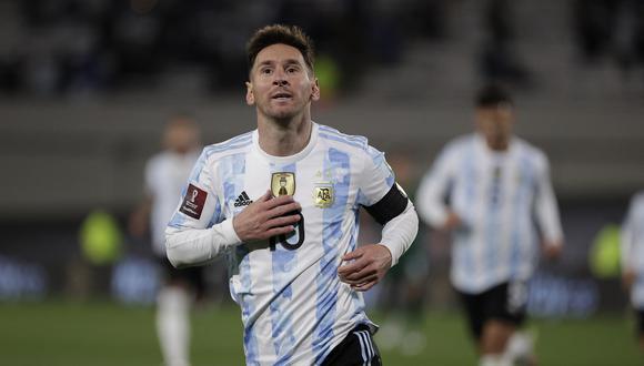 Lionel Messi fue autor de un triplete en la victoria de Argentina sobre Bolivia. (Foto: AFP).