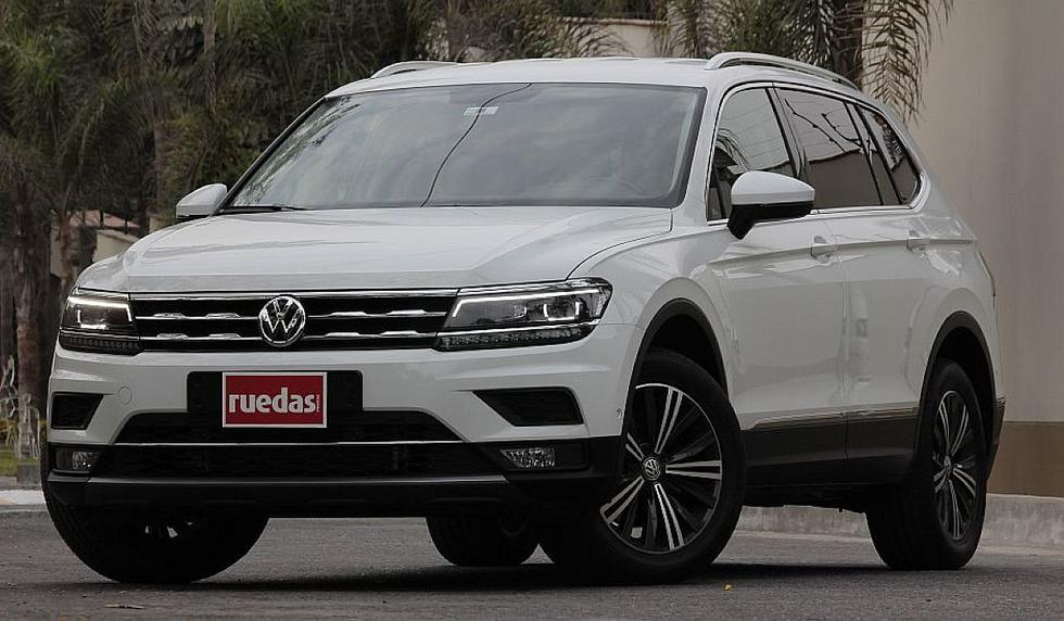El Volkswagen Tiguan Allspace destaca por tener tres filas de asientos. (fotos: Ruedas&Tuercas)