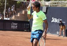 Sigue su gira por Chile: Juan Pablo Varillas debutó con victoria en el Challenger de Santiago