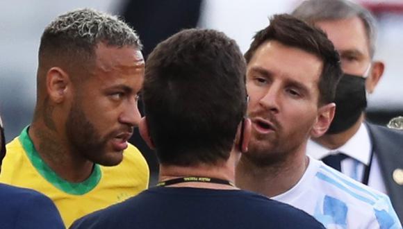 El Brasil vs. Argentina se suspendió y se abrió la polémica sobre la resolución de los puntos del partido | Foto: REUTERS