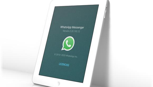 ¿Deseas tener WhatsApp en tu tablet? Entonces sigue sencillos pasos. (Foto: WhatsApp)