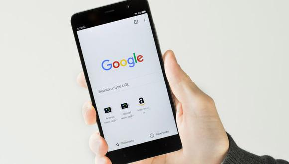 Google Chrome en el sistema operativo Android