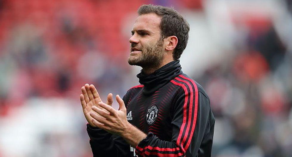 Juan Mata llegó al Manchester United en el 2013. (Getty)