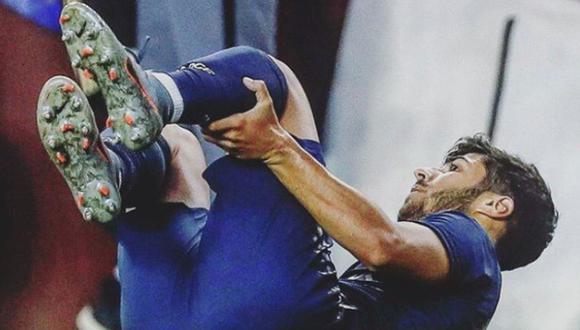 Marco Asensio salió lesionado ante Arsenal por International Champions Cup. (Twitter)