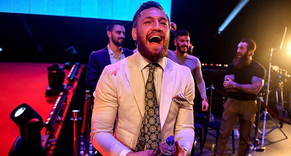 Conor McGregor tiene un récord de 21-4 como peleador profesional. (Getty Images)