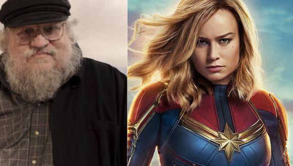 Capitana Marvel | George R.R. Martin tiene una crítica a la cinta de Marvel