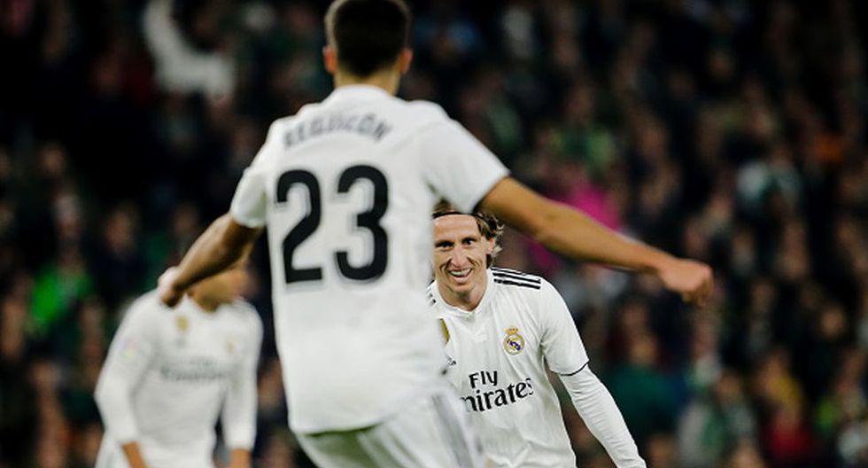 Rodrygo tenía previsto llegar al Madrid a final de temporada. (Getty)