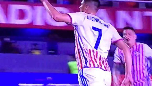 Paraguay vs Honduras: el 'Tacuara' Cardozo marcó el primero de los sudamericanos.