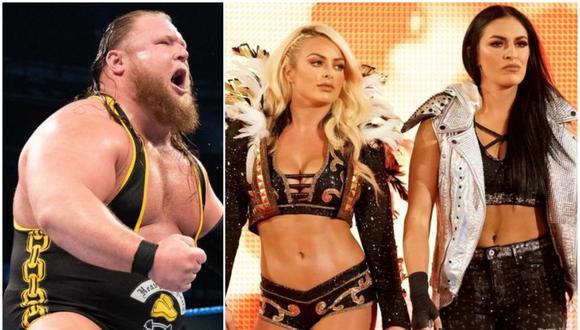Otis, Mandy Rose y Sony Deville se encuentran involucrados en una historia en SmackDown. (Foto: WWE)