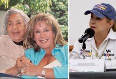 Laura Zapata acusa a su hermana Gabriela Sodi de llevarse los ahorros de su abuela Eva Mange
