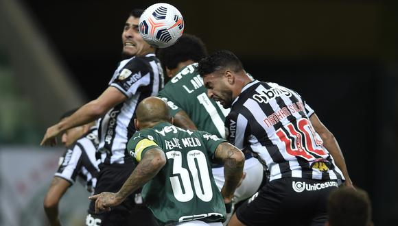 Palmeiras y Mineiro no se sacaron diferencias en la semifinal de ida de la Copa Libertadores. (Foto: Conmebol)