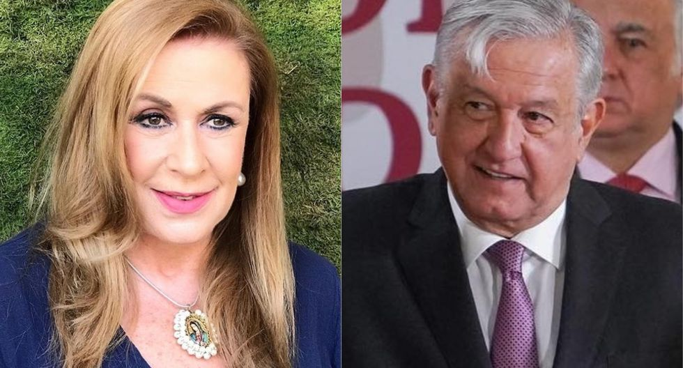 Laura Zapata desató polémica en Twitter por mensajes contra AMLO. (Foto: @laurazapataoficial/@lopezobrador)