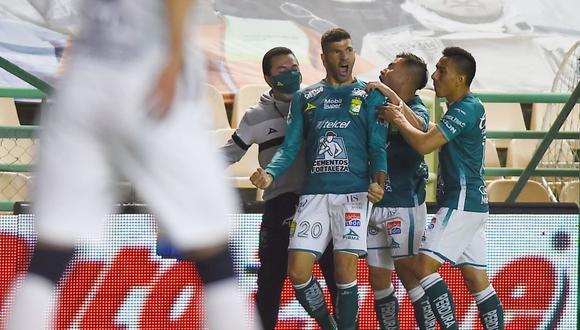 Con goles de Gigliotti y Moreno, el León se llevó el Apertura 2020 Liga MX. (AFP)
