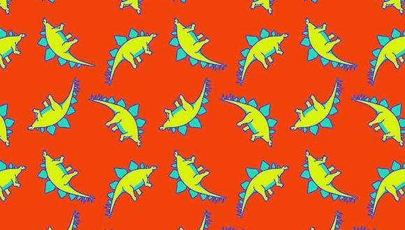 Tu tarea de hoy es hallar los dinosaurios distintos al resto en la imagen. (Foto: Noticieros Televisa)