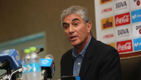 Juan Carlos Oblitas comentó la situación de Gareca al mando de la Selección Peruana. (Foto: GEC)