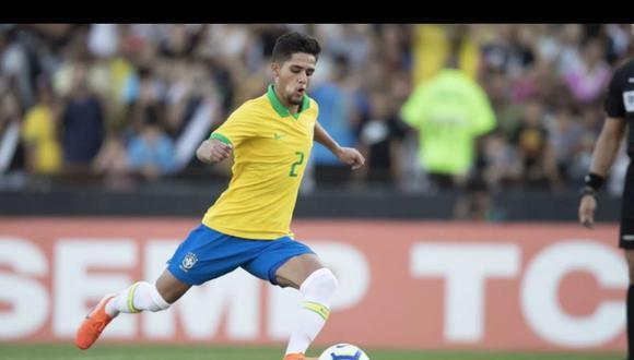 Yan Couto tiene 17 años y pertenece al Curitiba. (Foto: CBF)