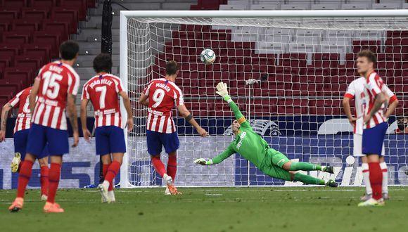 Alvaro Morata abrió el marcador desde los doce pasos  (Photo by Denis Doyle/Getty Images)