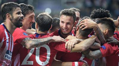 Atlético de Madrid premiere seu título europeu da Europa. (AFP)