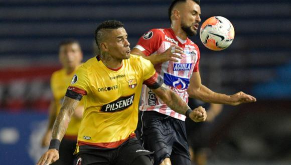 Barcelona SC venció a Junior en Barranquilla. (Foto: Conmebol Libertadores)