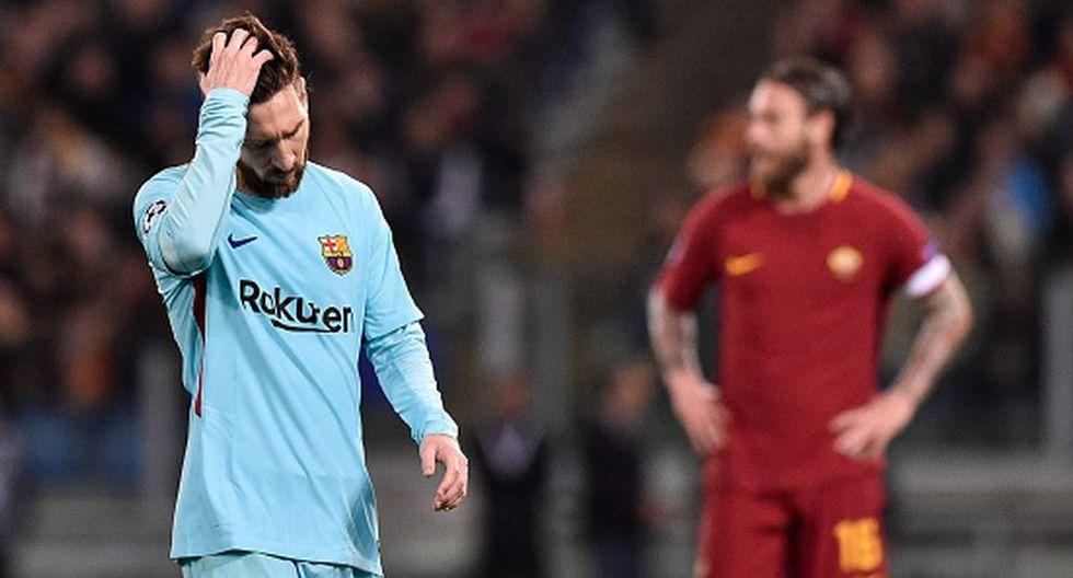 La respuesta de la Roma sobre le invicto de Barcelona (Foto: Getty Images).