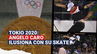 Tokio 2020: Angelo Caro, nuestro skater en los Juegos Olímpicos