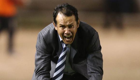 Juan Reynoso se mostró incómodo con el arbitraje en el Puebla vs. Monterrey. (Foto: GEC)